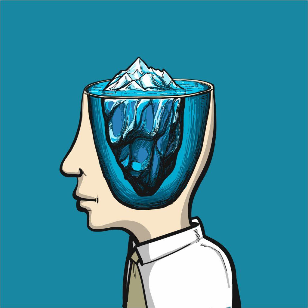 潜在意識と顕在意識のイメージ